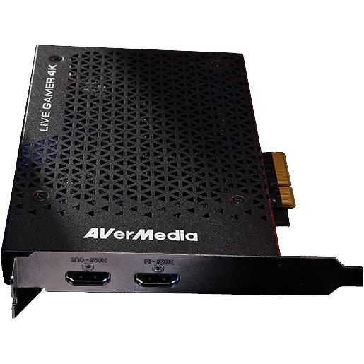 Op HardwareComponenten.nl is alles over gaming te vinden: waaronder alternate en specifiek AVerMedia Live Gamer 4K GC573 capture card