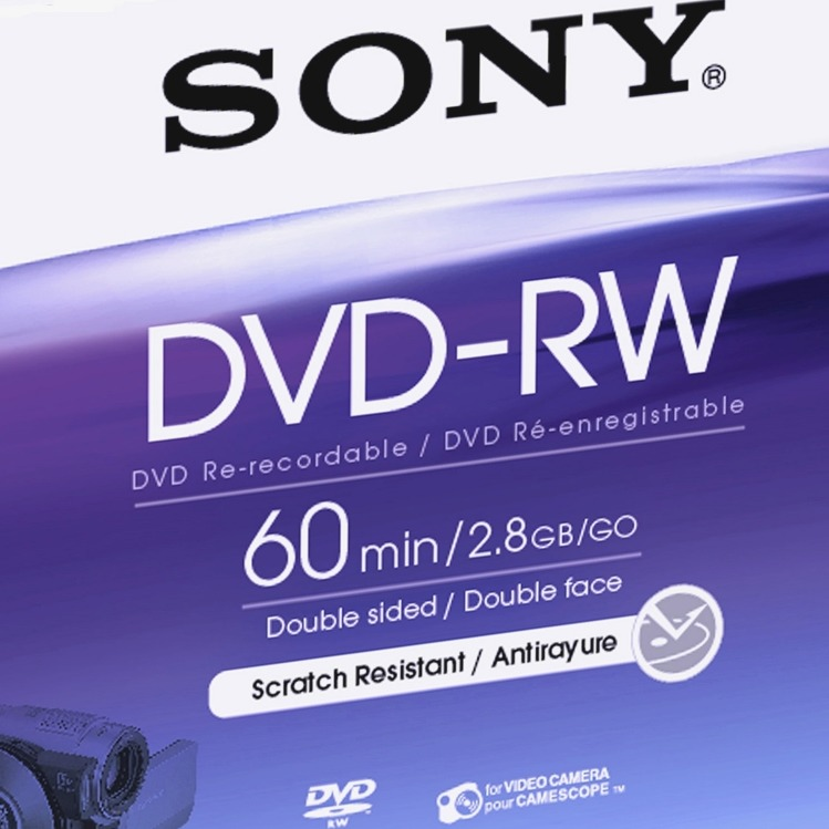 Image of DVD-R 80mm 2,8GB 2St