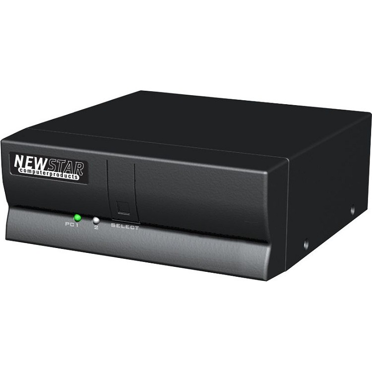 KVM Switch for 2 PC. AT/Serial + PS/2