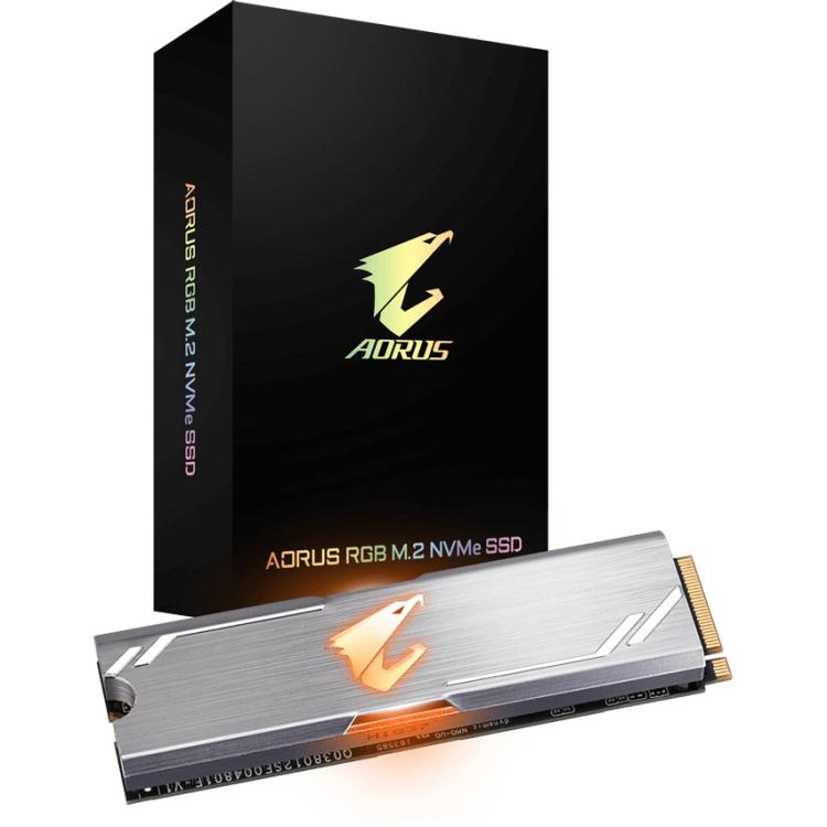 RGB M.2 NVMe SSD, 512 GB kopen