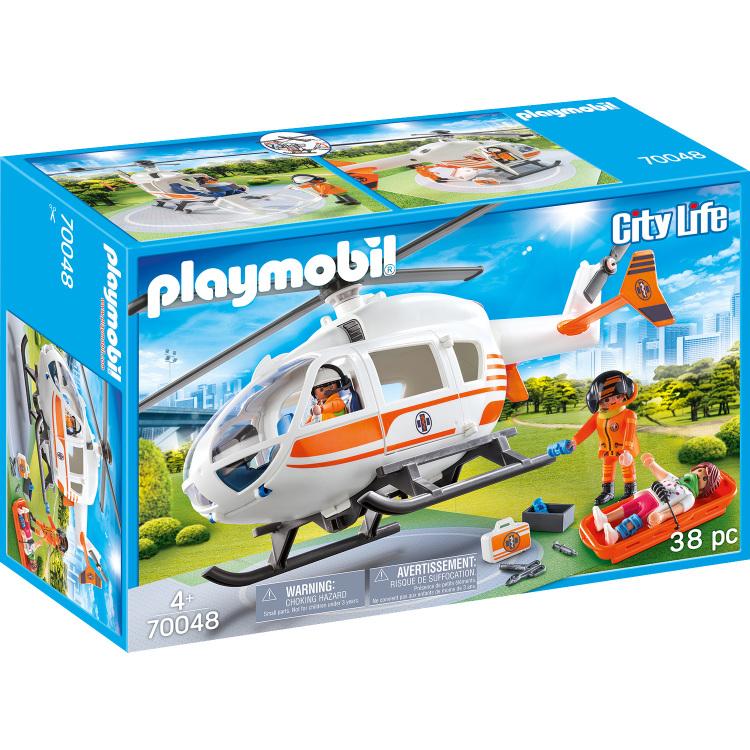 Alternate-PLAYMOBIL City Life - Eerste hulp helikopter 70048-aanbieding