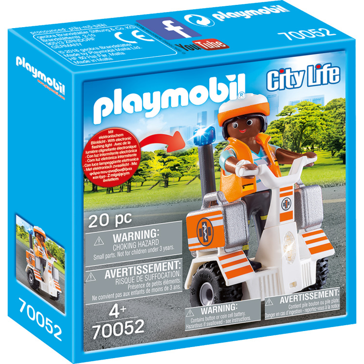 Playmobil 70052 City Life Eerste Hulp Balans Racer