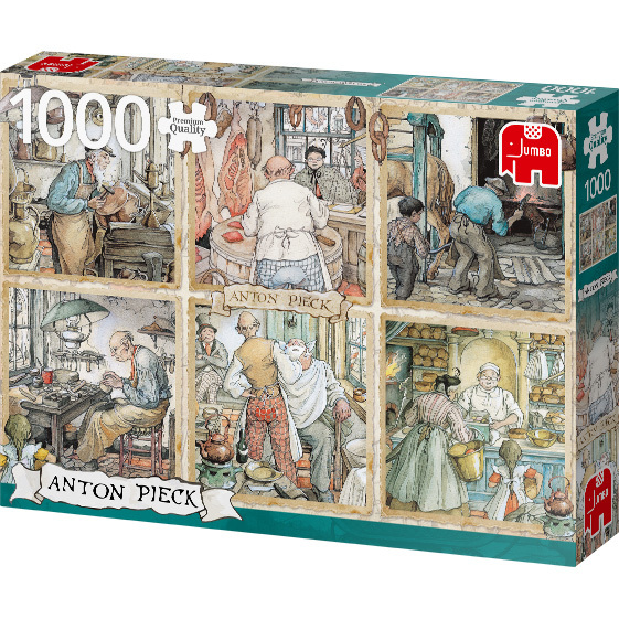 Anton Pieck - De Ambachtslieden puzzel