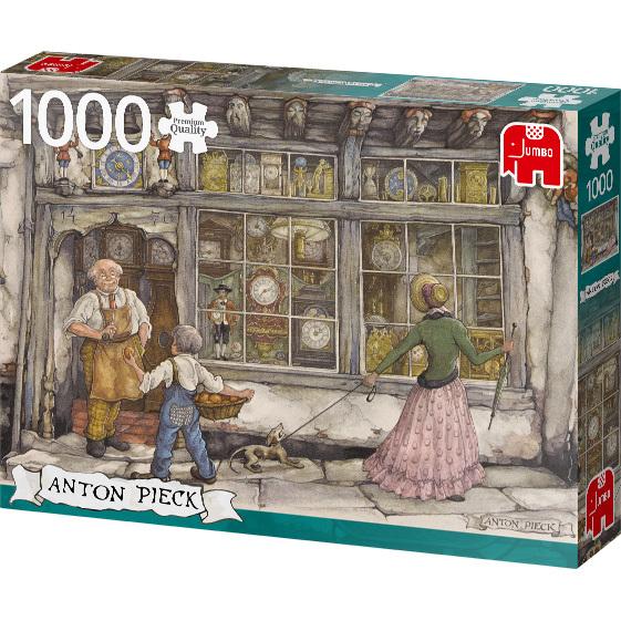 Anton Pieck - Klokkenwinkel puzzel