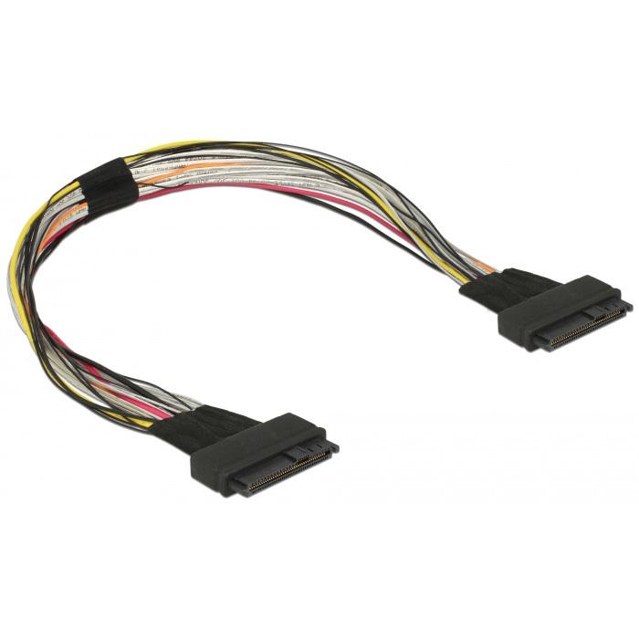 DeLOCK U.2 SFF-8639 female > U.2 SFF-8639 female kabel