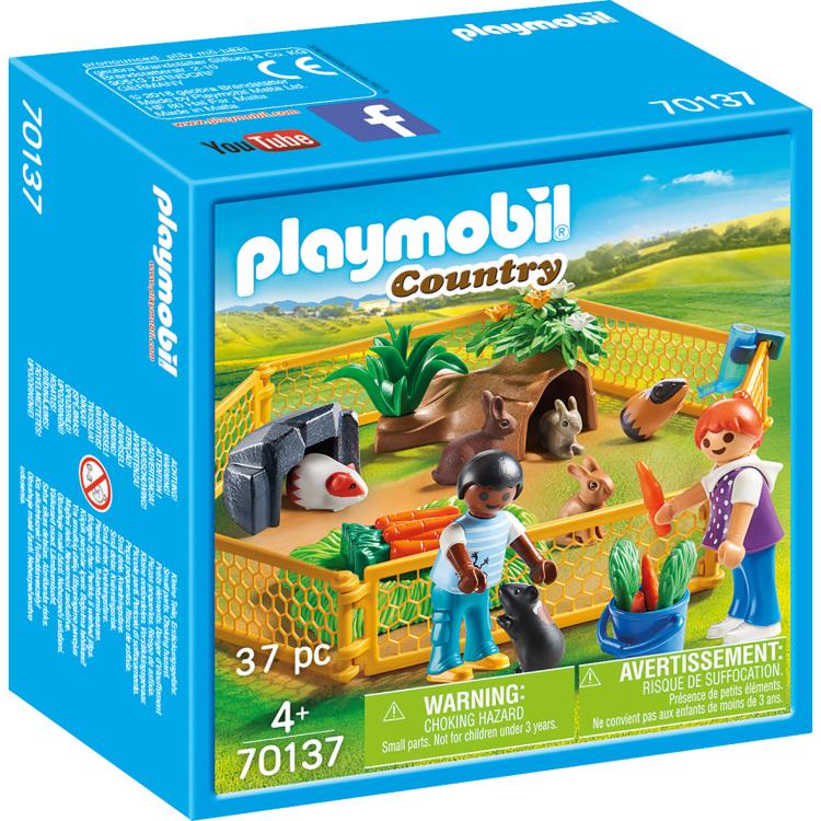 PLAYMOBIL Country - Kinderen met kleine dieren 70137