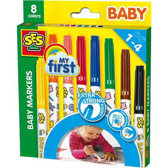 SES Creative My First - Baby markers tekenen 00299
