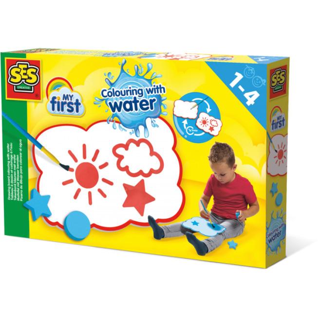 SES Creative My First - Tekenbord kleuren met water 14451