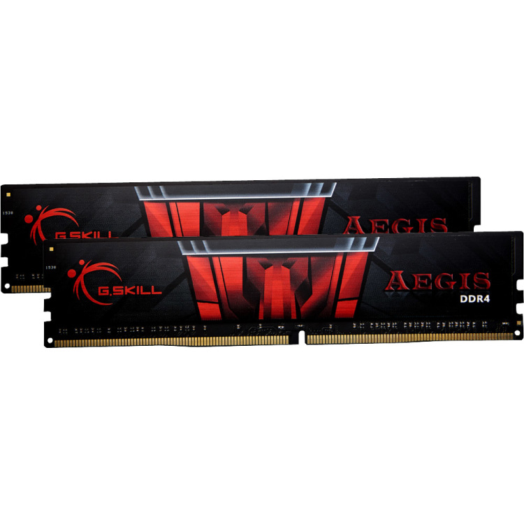 G.Skill 8 GB DDR4-2400 Kit werkgeheugen F4-2400C15D-8GIS, Aegis, XMP 2.0