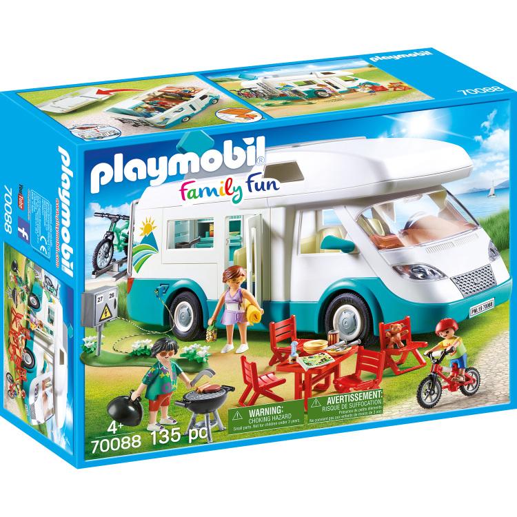 Alternate-PLAYMOBIL Family Fun - Mobilhome met familie 70088-aanbieding