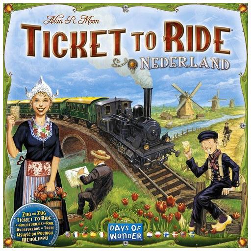 Asmodee Ticket to Ride - Nederland Uitbreiding