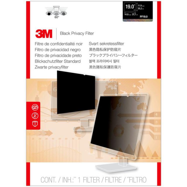 3M Privacyfilter standaard inkijkbeveiliging 19 monitor