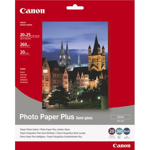 PAPER PHOTO SG201 8X10IN 20SH SEMI-GLOSS