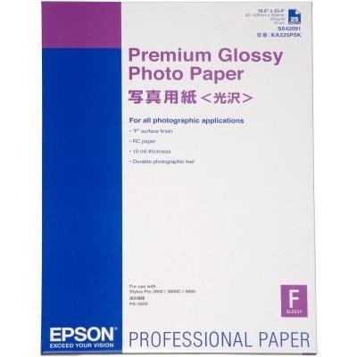 Epson Premium Glanzend Fotopapier - 25 vel / A2