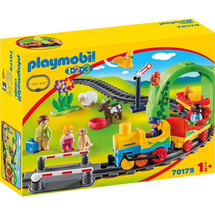 PLAYMOBIL 1.2.3 - Mijn eerste trein 70179