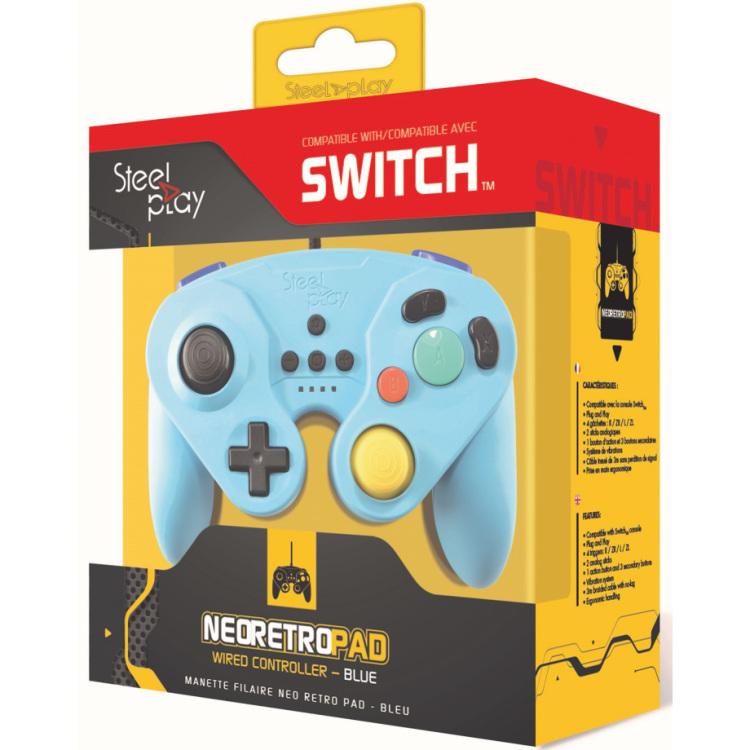 Op HardwareComponenten.nl is alles over gaming te vinden: waaronder alternate en specifiek Steelplay Neo Retro Pad wired controller gamepad Nintendo Switch