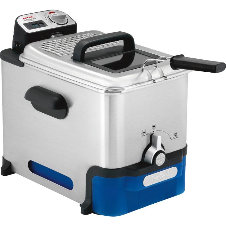 Alternate-Tefal Oleoclean Pro Inox & Design FR8040 frituurpan 3,5 Liter-aanbieding