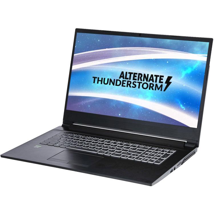 ALTERNATE Thunderstorm - GeForce GTX 1660 Ti, 8G RAM, 512 GB SSD, 17.3 inch