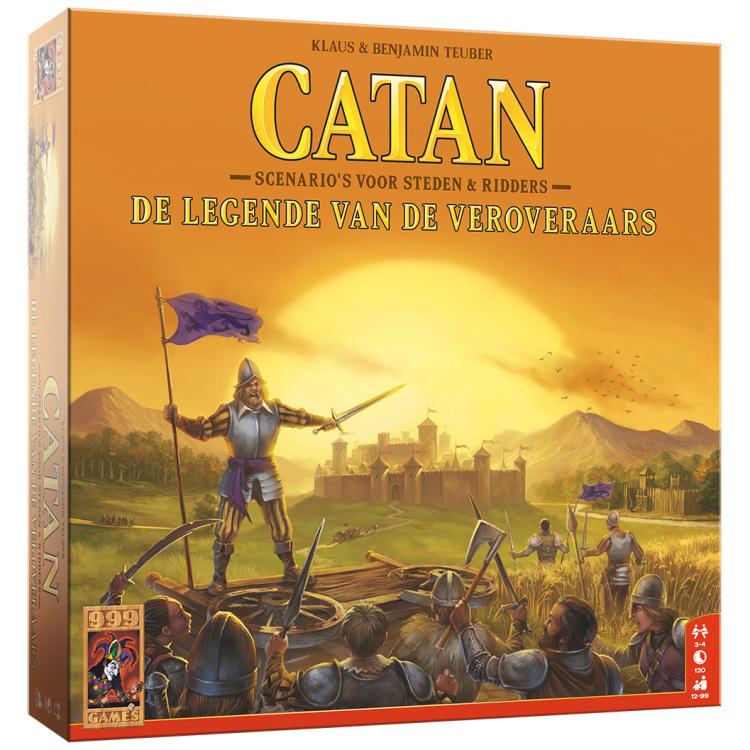 999 Games Catan: De legende van de veroveraars uitbreiding