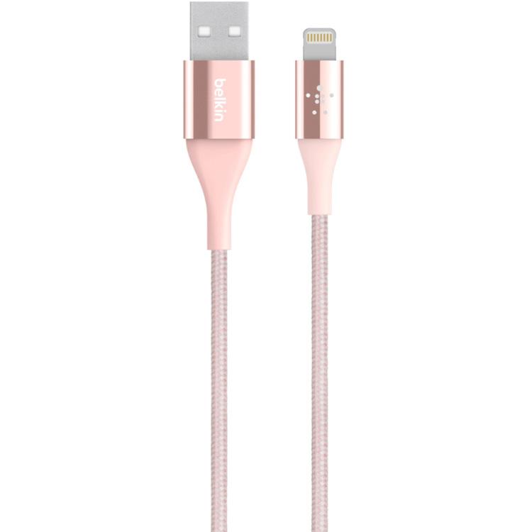 Belkin 1.2m, Lightning-USB 1.2m USB A Lightning Roze