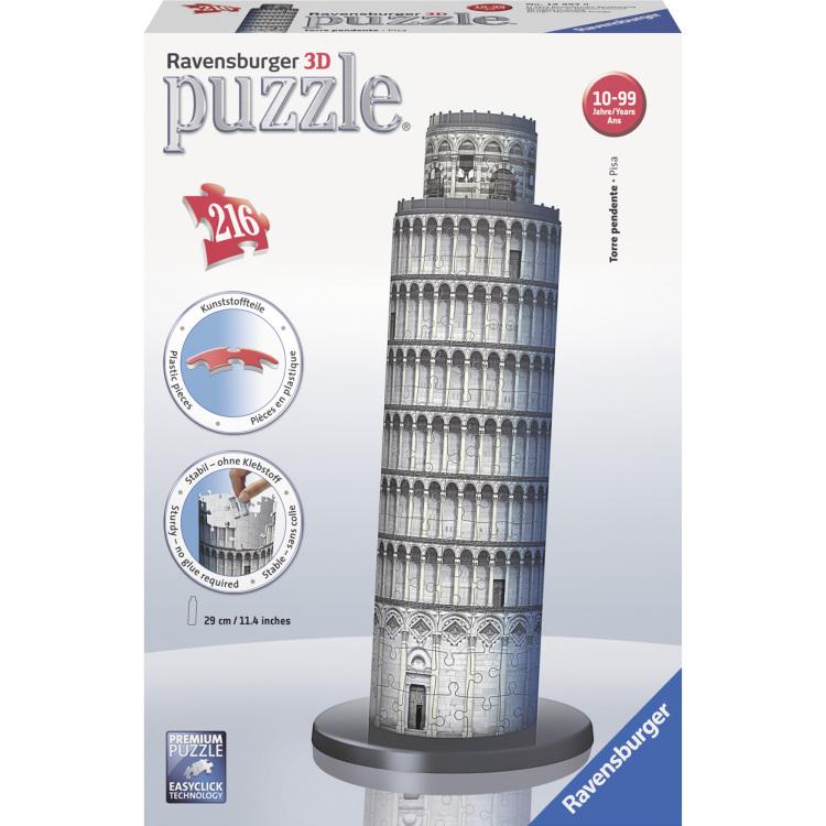 Ravensburger 3D puzzel Toren van Pisa -