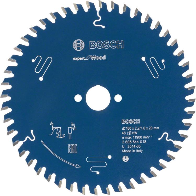 Cirkelzaagbl.Wood Neg.254x30x2,4 60T (per stuk)