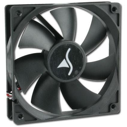 SharkoonSystem Fan S40 (Retail, 3-pins, Low Noise)