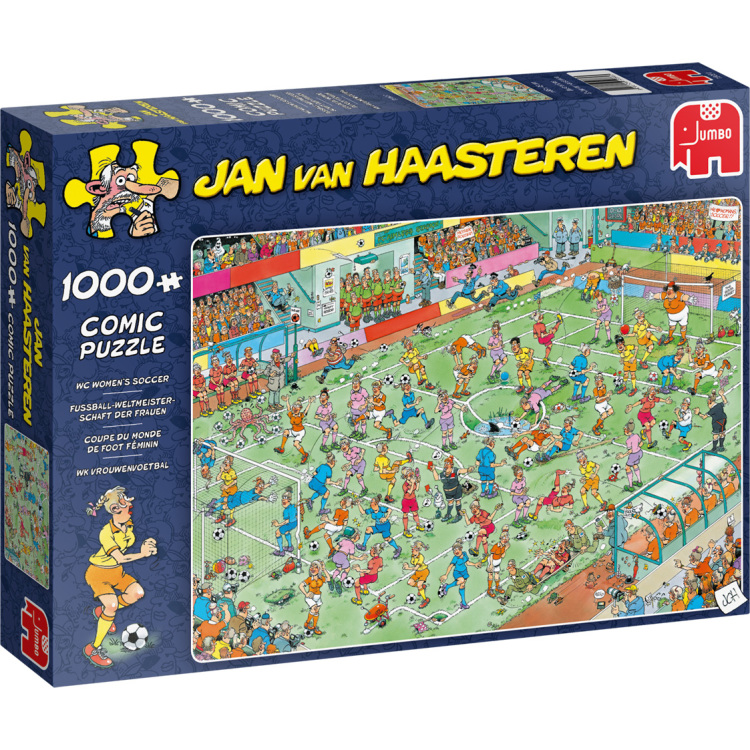 Alternate-Jumbo Jan van Haasteren - WK Vrouwenvoetbal puzzel 1000 stukjes-aanbieding