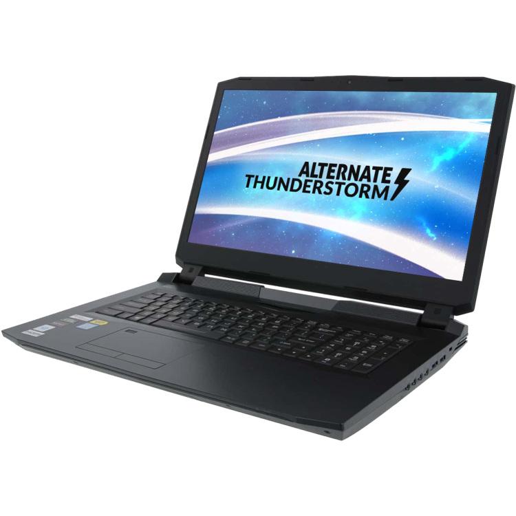 ALTERNATE Thunderstorm - Core i9-9900K, 32 GB RAM, 2 TB SSD - 17.3 inch