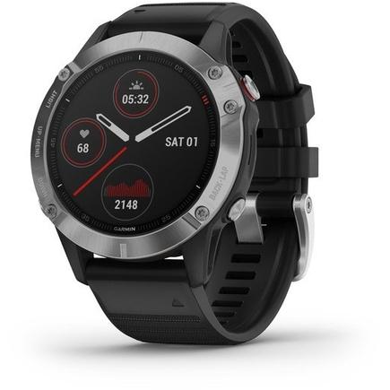 Garmin Fenix 6 Smartwatch Zilver/Zwart online kopen