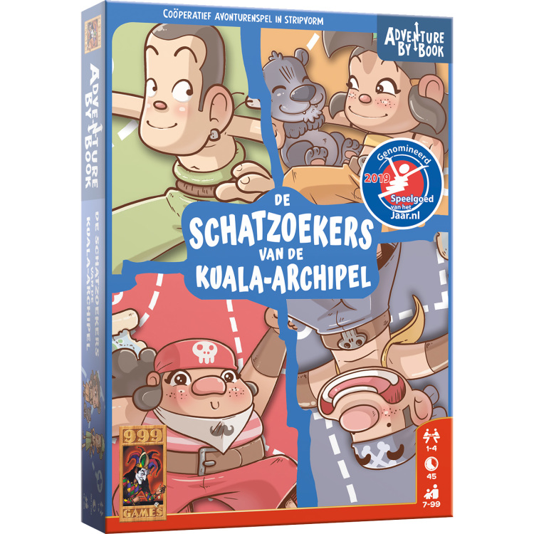 999 Games Adventure By Book: De Schatzoekers van de Kuala-archipel