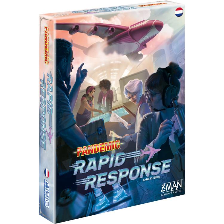 Asmodee Pandemic - Rapid Response Nederlands