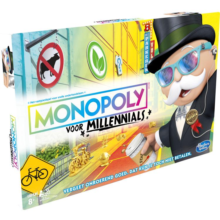 Hasbro Monopoly Millennial Editie