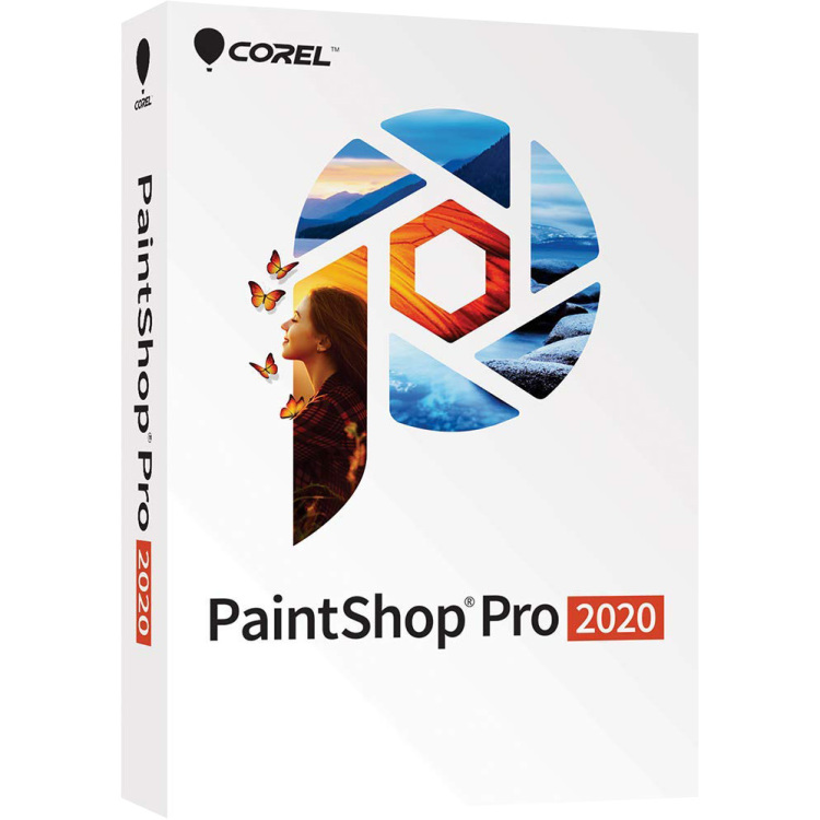 Corel PaintShop Pro 2020 software