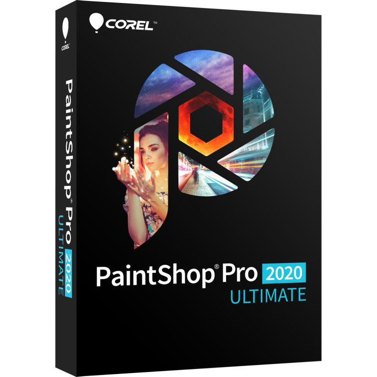 Corel PaintShop Pro 2020 Ultimate software
