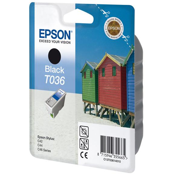 Epson T036 - Inktcartridge Zwart