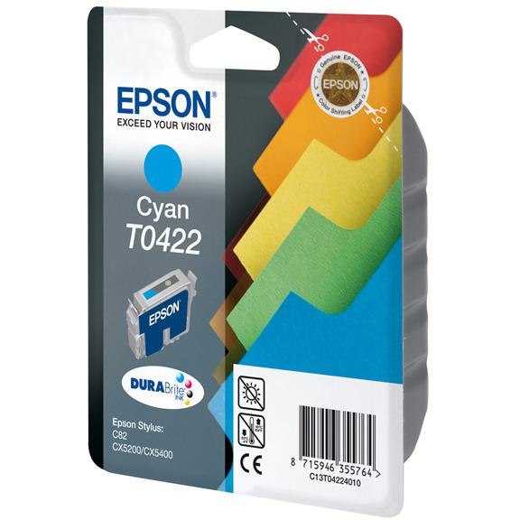 Epson T042 - Inktcartridge / Cyaan