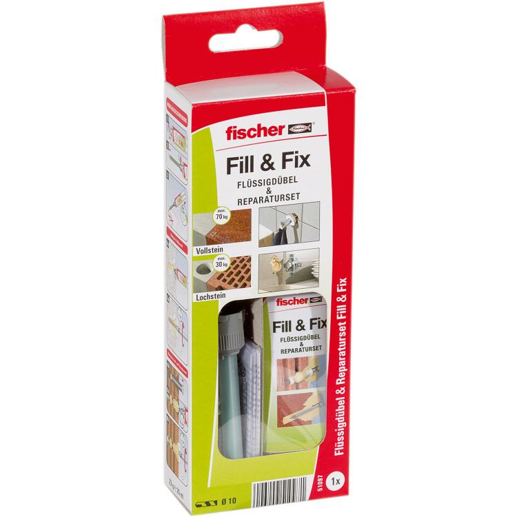 fischer Fisc Flüssigdübel Fill & Fix K 1 reparatieset