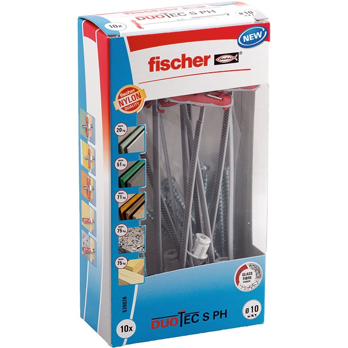 fischer DUOTEC 10 S PH LD plug