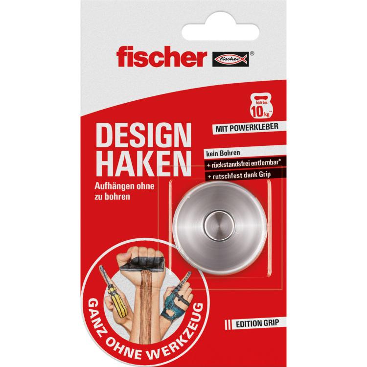 fischer Fisc GOW Designhaken max. 10kg houder