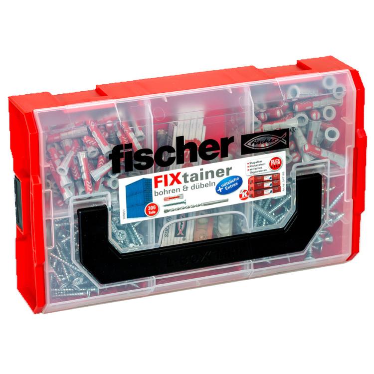 fischer Fisc FIXtainer - Bohren und Dübeln plug