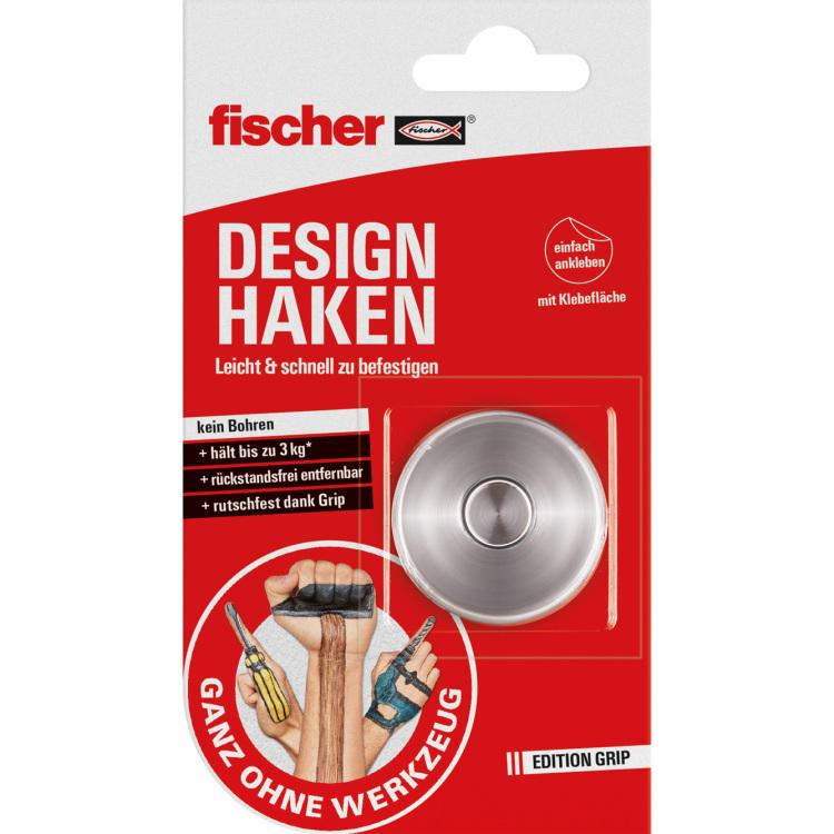 fischer Fisc GOW Designhaken max. 3kg houder