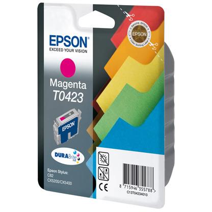 Epson T0423 - Inktcartridge / Magenta