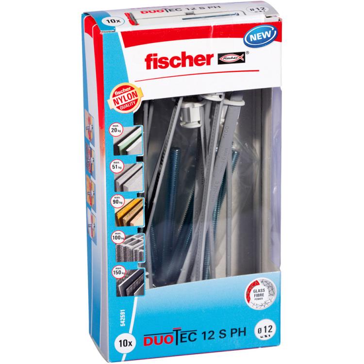 fischer Fischer DUOTEC 12 S PH M LD plug