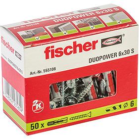 fischer Fischer DUOPOWER 6x30 S plug