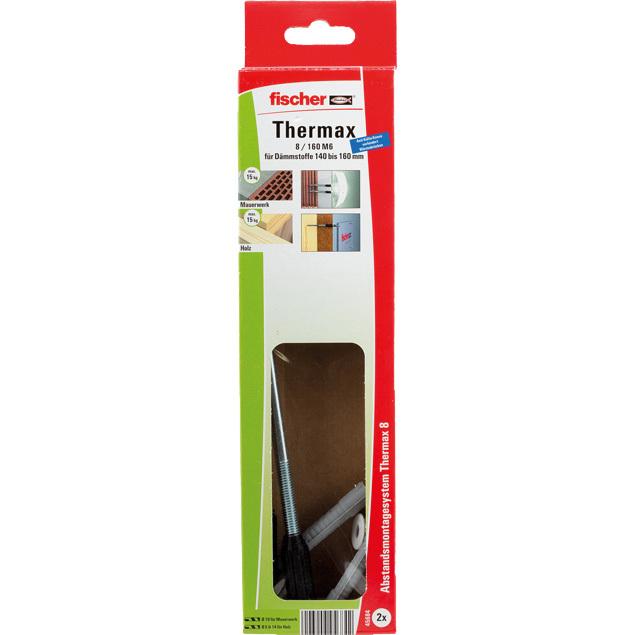 fischer Fisc Thermax 8/160 M6 (2) plug