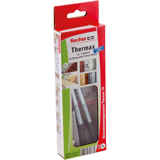 fischer Fisc Thermax 10/140 M10 (2) plug