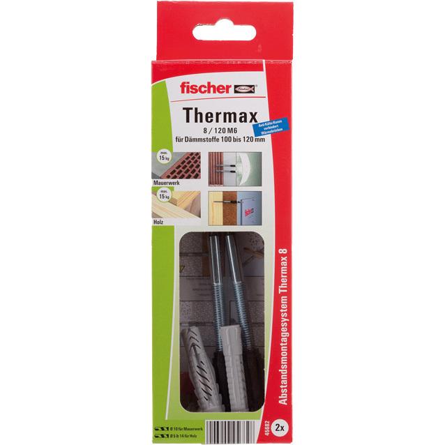 fischer Fisc Thermax 8/120 M6 B (2) plug