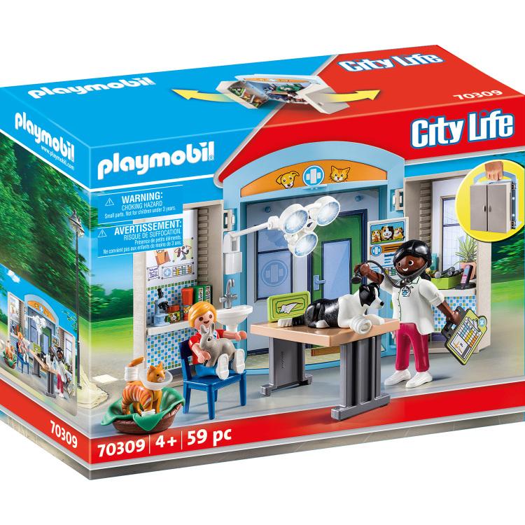 PLAYMOBIL City Life - Speelbox Dierenarts 70309
