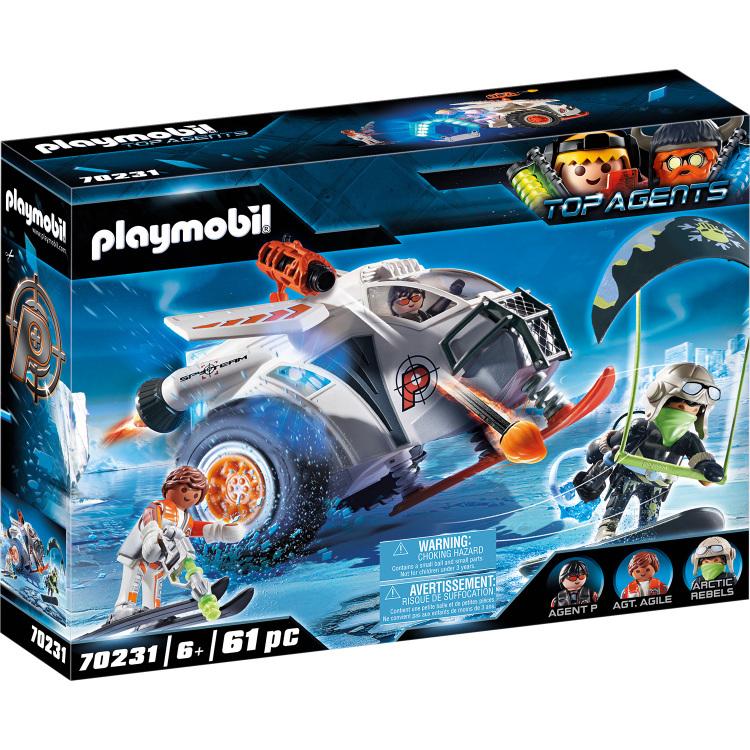 PLAYMOBIL Top Agents - Spy Team sneeuwmobiel 70231